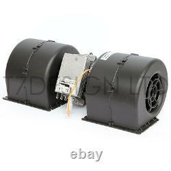 008-A54-02 SPAL Centrifugal Blower Fan 543cfm 12v 3 Speed Fan, Heat, AC