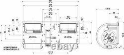 12v Heater Blower Fan Motor Series Spal Type 006-a40-22