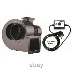 1800m3 Industrial Centrifugal Blower Fan + 500Watt Speed Controller Extractor