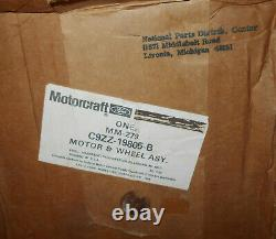 1969 1970 1971 Mustang Cougar Maverick NOS HANG-ON A/C FAN BLOWER MOTOR & WHEEL