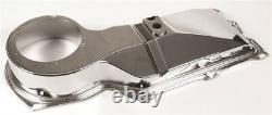 67-74 Big Block Firewall Heater Core Box Blower Motor Fan Cover Housing CHROME