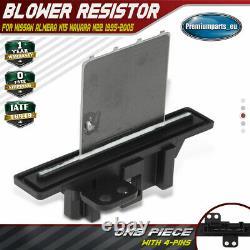 Blower Motor Heater Fan Resistor for Nissan Almera N15 Navara D22 271503S810