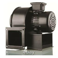 Centrifugal Blower Extractor Fan + Adapter Dust Fume Hydroponics dark room