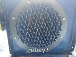 Centrifugal industrial fan, blower, & Alpak 3ph Induction Motor, 2800 RPM, 1.1kW