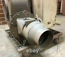 Chicago Blower Induction Fans Siemens Electric Motor 10hp 3490 RPM 220/460V