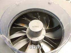 Dayton 6K599B Blower Motor Fan with Bracket 3450-RPM 115VAC/230VAC 12/6A 1HP