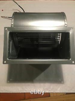 Double Inlet Centrifugal Fan RD15R Ziehl Abegg EC Fan 230v 0-10v control 1000m3