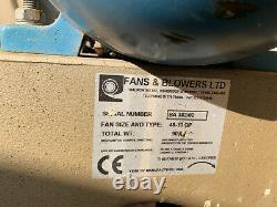 Fans & Blowers 48-10QP / Radialventilator Radiallüfter WEG Motor 4,8 kW
