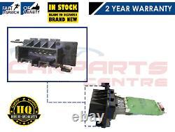 For Vauxhall Corsa D 2006- Onwards Oe Heater Blower Motor Fan Resistor Only