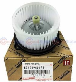 Genuine TOYOTA Landcruiser HZJ75 HZJ78 HZJ79 4.2L Diesel Heater Fan Blower Motor