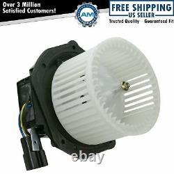 Heater A/C Fan Blower Motor with Fan Cage for 94-99 Eldorado Seville Deville