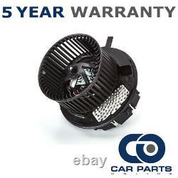 Heater Blower Fan Motor Fits Audi TT (Mk2) 2.0 TFSI Petrol (2006-2010)