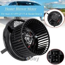 Heater Blower Motor Fan For Seat Alhambra Altea Leon (1p1) Toledo Mk3 1k2820015a