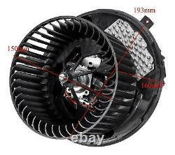 Heater Blower Motor Fan For Vw Beetle Caddy Golf Mk5 Mk6 Plus Jetta 1k2820015