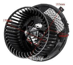 Heater Blower Motor Fan For Vw Passat 2005-2014 CC Scirocco Sharan Tiguan Touran
