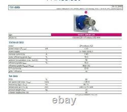 High Performance Centrifugal Plug Fan 1.1KW 2900rpm 3 phase 5500m3/hr kitchens