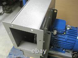 High Pressure Centrifugal Fan Blower 7200m3/hr 4000Pa 7.5KW 3 phase Extractor