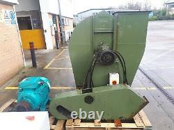 Industrial Dust Extraction System. Blower fan, 37.5kw motor, Star Delta, Insulation
