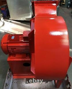 Industrial Fan Centrifugal Blower Spray Booth Extractor 18.5kW 3-Phase 2930RPM
