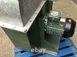 Industrial Fan Centrifugal Blower Spray Booth Extractor Siemens 5.5kW Grain