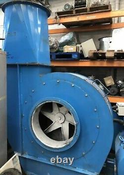 Industrial Fan Centrifugal Blower Spray Booth Extractor Siemens 90kW 1485RPM