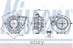Interior Heater Blower Fan Motor MBR171, SLK 212200126 1718350004 A1718350004