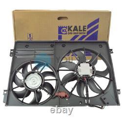 Kale Radiator Fan Dual Fan Engine Cooling for Audi Seat Skoda VW