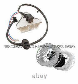 Mercedes W124 Heater Fan Blower Motor & Blower Regulator Unit