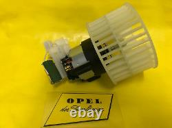 New Blower Motor Inclusive Resistor Vauxhall Calibra Vectra A Without Air NOS