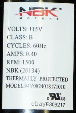 Pellet Stove Convection Fan Motor Blower 250-00588, 90-0491 for Lopi Avalon