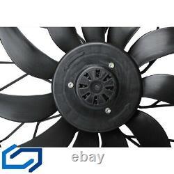 Radiator Fan Fan Climate Control Fan Mercedes W163 850W 2-polig 1635000293