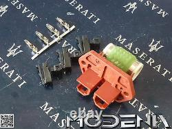 Series Resistor Blower Motor Radiator Fan Pre-resistor Cooling Maserati 3200 Qp