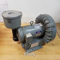 Spencer VB019B-011 Vortex Blower Motor Fan Assembly, 2 Phase, 160CFM @160 HZ/