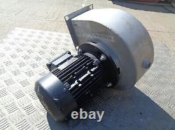 Stainless steel Centrifugal fan blower 0.75KW 3 phase Mistral WH01M1N70