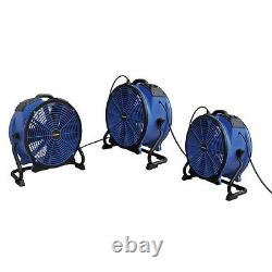 XPOWER X-48ATR 1/3HP Heat Resistant Sealed Motor Axial Fan w Outlet, Timer