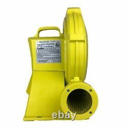 Zoom W4L Inflatable Bounce House Blower Pump Fan Energy Efficient 750 Watt Motor