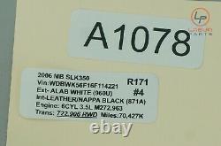+a1078 R171 Mercedes 05-09 Slk Class Front Left/right Seat Blower Motor Fan