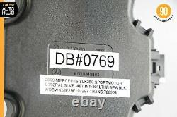05-11 Mercedes R171 Slk350 Slk55 Amg Ventilateur De Siège Moteur À Droite Ou À Gauche Oem