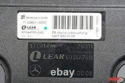 11-17 Mercedes A207 E350 Sl450 E550 Siège Convertible Airscarf Ventilateur Moteur