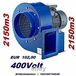 200-m Turbo Industrial Centrifugal Blower Fan Fume, Ventilation Extracteur De Fumée
