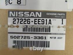 2007-2012 Nissan Versa A/c Hvac Heater Blower Motor Fan Oem Nouveau 27226-ee91c