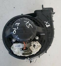 Bmw X5 (e70) Ventilateur De Soufflante De Chauffage 3.0d Avec Résistor 990878j