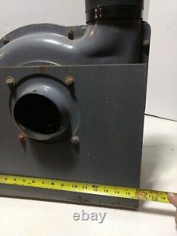 Cincinnati 500s Fume Master Confined Space Blower 1/2 HP Ventilateur D'échappement Moteur