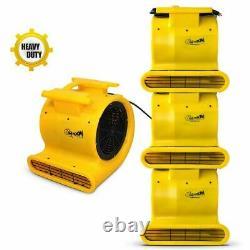 Commercial Zoom Fd-100 Sèche-tapis 3-speed Air Blower 2000 Cfm 1hp Ventilateur Portable