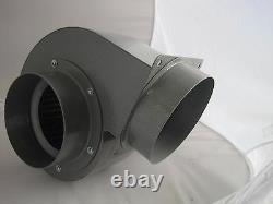 Extracteur Centrifuge Industriel Ventilateur Ventilateur 1300m3/h Haute Puissance 230v Filtre