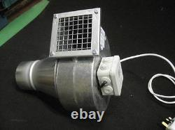 Extracteur Industriel Ventilateur Centrifuge Blower 650m3/h 230v Nouvelle Extraction De Poussière