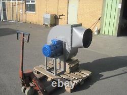 Grand Ventilateur Centrifuge Industriel 7.5kw 2900rpm 15500m3/hr Haute Pression
