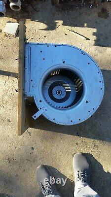 Grand Ventilateur Centrifuge Industriel Galvanisé Extracteur Commercial