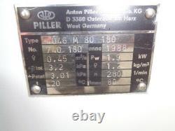 Grande Phase Industrielle- 3 Tous Les Ventilateurs D'acier Fabriqués En Allemagne Anton Piller