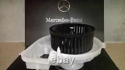 Heater Motor Blower Unit Fan Mercedes Slk 171 Modèles Genuine Part